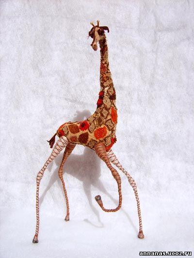 Как сшить жирафа своими руками мастер класс 93